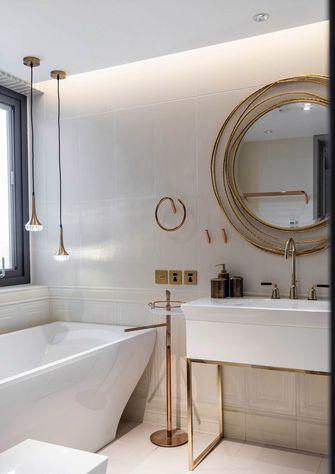 富裕型130平米公寓现代简约风格卫生间欣赏图