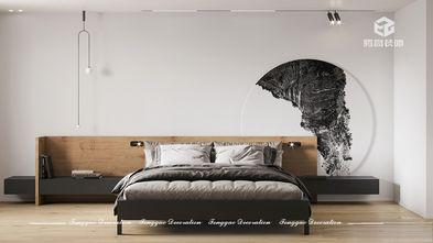 120平米三室一厅现代简约风格卧室图片