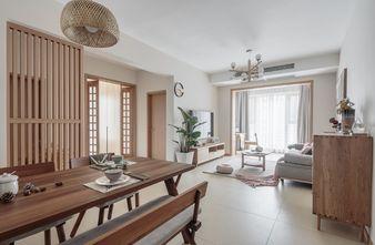 100平米三室三厅日式风格餐厅图
