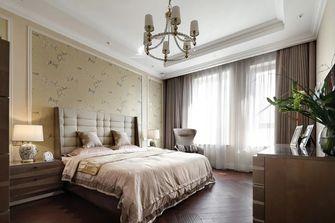 豪华型140平米四室一厅轻奢风格卧室设计图