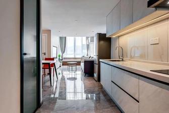 富裕型30平米小户型现代简约风格厨房装修效果图