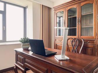 豪华型140平米四室两厅中式风格书房图