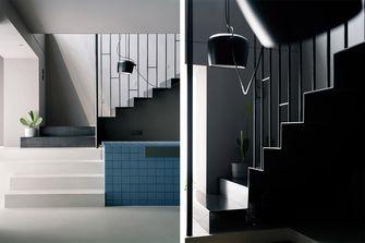 豪华型140平米四室三厅现代简约风格楼梯间装修案例