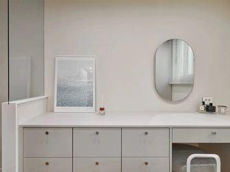 富裕型90平米三室一厅现代简约风格梳妆台图片