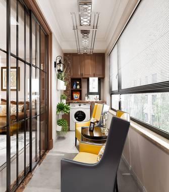 20万以上140平米四室两厅美式风格阳台欣赏图