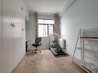 120平米三室两厅美式风格健身房装修图片大全