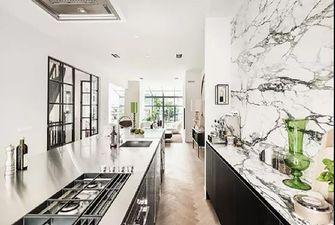 60平米一室两厅现代简约风格厨房图