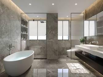 20万以上140平米四室三厅现代简约风格卫生间图