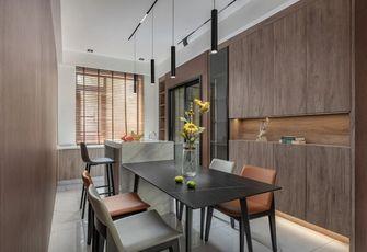 140平米三室两厅轻奢风格餐厅效果图