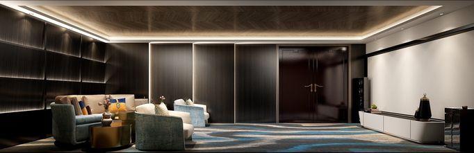 20万以上140平米别墅轻奢风格影音室图