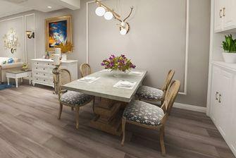 100平米三室两厅美式风格餐厅设计图