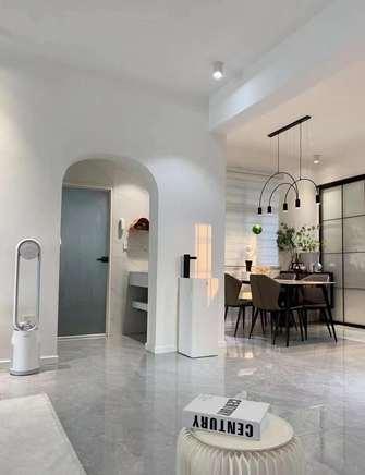 富裕型80平米现代简约风格走廊效果图