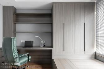 富裕型三室两厅混搭风格书房装修效果图