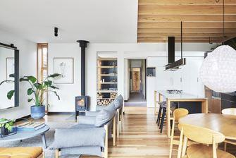 3万以下140平米别墅北欧风格客厅图