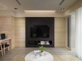 富裕型100平米三室一厅日式风格客厅装修案例