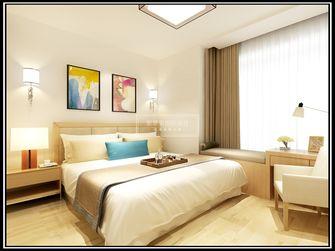 110平米三室两厅日式风格卧室装修案例