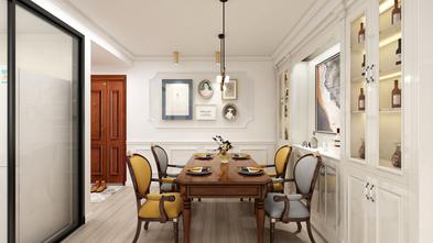 80平米一室一厅美式风格餐厅设计图