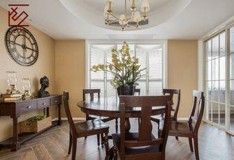 富裕型90平米三室两厅北欧风格餐厅图片