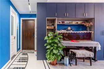 富裕型110平米三室一厅混搭风格玄关装修案例