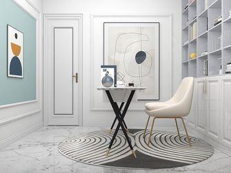 5-10万120平米三室两厅法式风格书房欣赏图