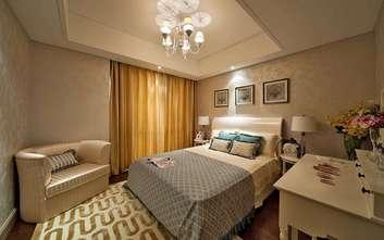 130平米三欧式风格卧室图片