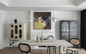 20万以上130平米三室两厅法式风格餐厅设计图