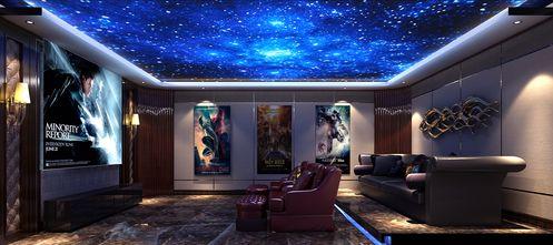 140平米别墅港式风格影音室图