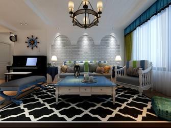 120平米地中海风格客厅图片