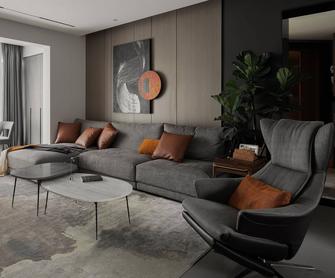 3-5万130平米三室三厅现代简约风格客厅欣赏图