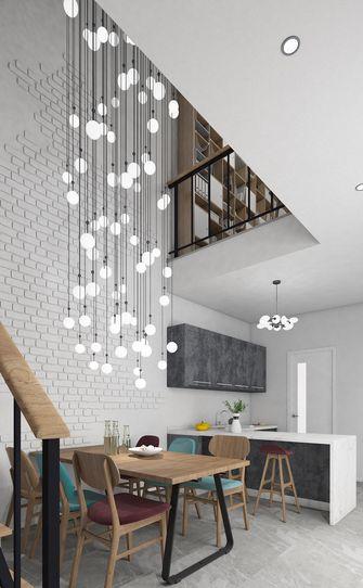 豪华型140平米别墅工业风风格餐厅设计图