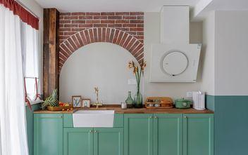 3-5万30平米小户型美式风格厨房装修效果图