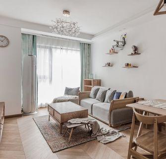 10-15万80平米一室两厅北欧风格客厅装修效果图