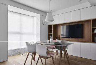 富裕型120平米三室两厅日式风格餐厅效果图