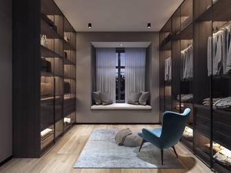 豪华型110平米三室一厅现代简约风格衣帽间设计图
