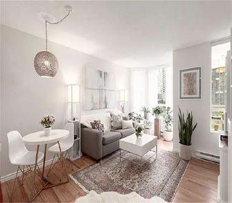 经济型60平米一室两厅现代简约风格客厅图片大全