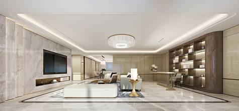 140平米别墅港式风格客厅装修案例