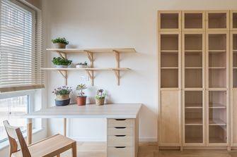 豪华型120平米三室两厅北欧风格书房图片