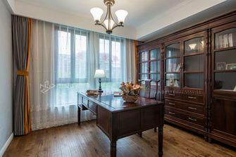 120平米三室两厅美式风格书房装修案例