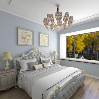 90平米欧式风格卧室欣赏图
