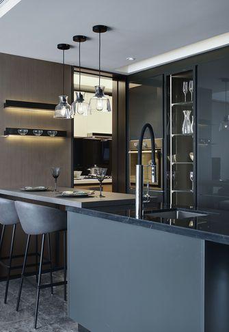 富裕型120平米三室一厅中式风格厨房图片