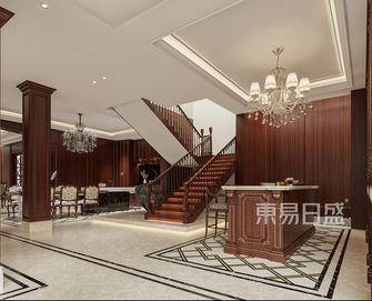 20万以上140平米别墅美式风格楼梯间图片