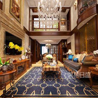 140平米复式新古典风格客厅效果图