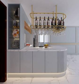 富裕型130平米三室两厅轻奢风格厨房效果图