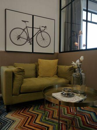 70平米现代简约风格客厅图