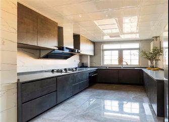 豪华型120平米三室一厅现代简约风格厨房设计图