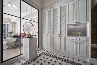 经济型140平米三室两厅美式风格玄关图片