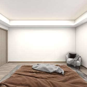 富裕型100平米三室一厅现代简约风格卧室欣赏图