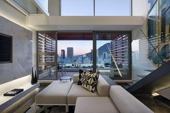 110平米三工业风风格客厅图