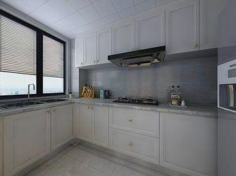 130平米三室一厅欧式风格厨房图片