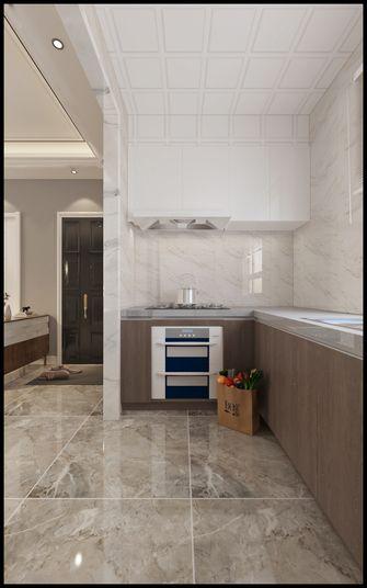 60平米三室一厅现代简约风格厨房图片大全